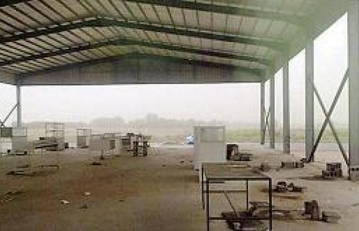 إغلاق السوق الشعبي الجديد في أبو عريش