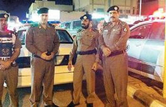 مدير شرطة القريات يتعرف على الخطط الأمنية والمرورية للعشر الأواخر