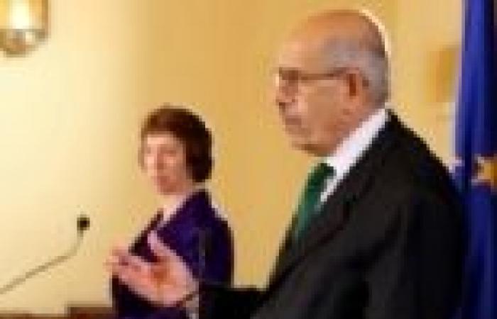 الاتحاد الأوروبى يصدر بياناً لتصحيح أخطاء الترجمة الفورية لمؤتمر «أشتون» و«البرادعى»