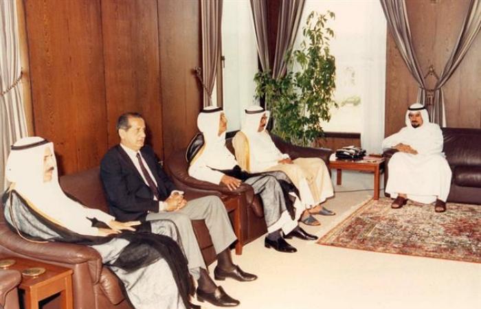 عندما قاد سليمان المطوع سيارة صاحب السمو للسعودية أثناء الاحتلال الصدامي