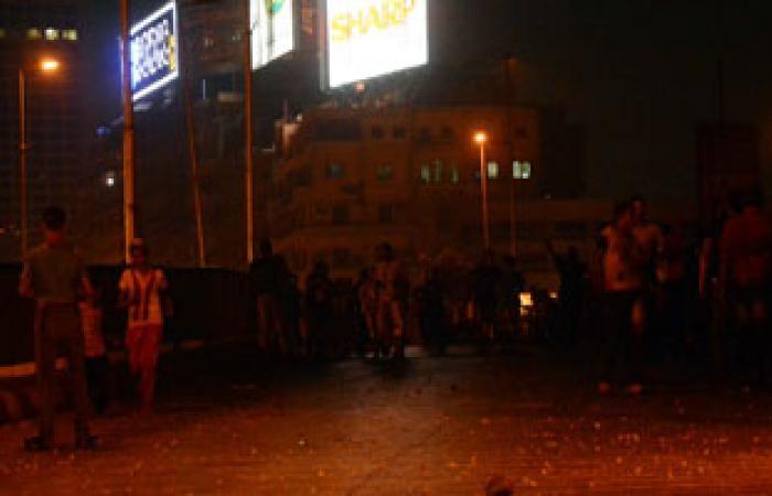 أهالى كفور نجم بالشرقية يطاردوا الإخوان بالشوم فى جنازة مجند سيناء