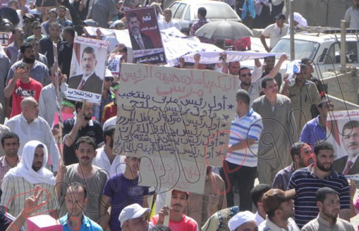 4 مسيرات للإخوان بالفيوم للمشاركة ضمن فاعليات مليونية مؤيدى المعزول