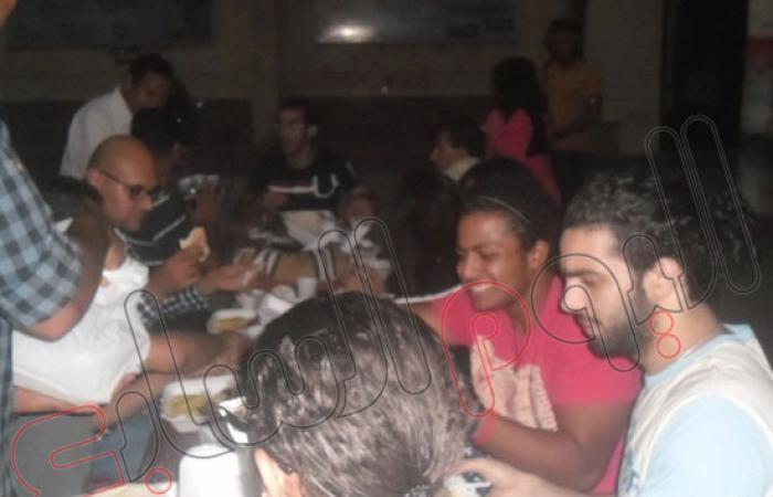 دومة وشاهين يشاركان فى حفل إفطار كلية آداب بالإسكندرية