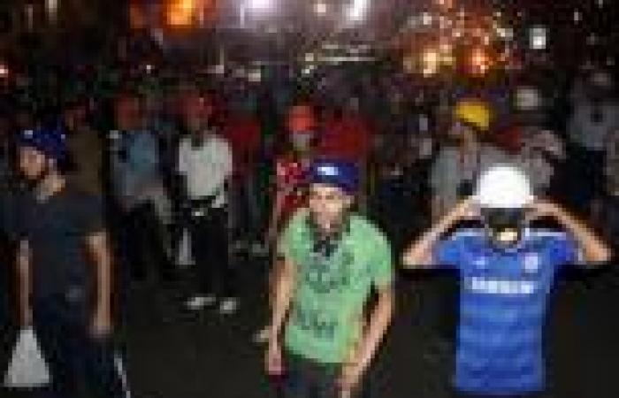 أنصار مرسي ينهون تظاهرهم أمام «المخابرات الحربية» ويعودون لـ«رابعة»