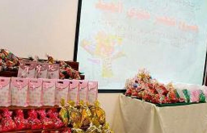 175 سيدة وفتاة يتطوعن لحلوى العيد تحت شعار كلنا أسرة واحدة
