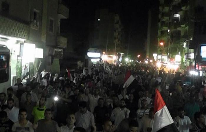 بالصور.. مسيرة لتحالف دعم الشريعة بالفيوم