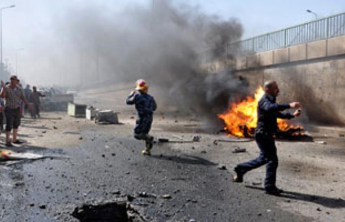 مقتل وإصابة أكثر من 20 شخصًا فى انفجار غربى الرمادى بمحافظة الأنبار