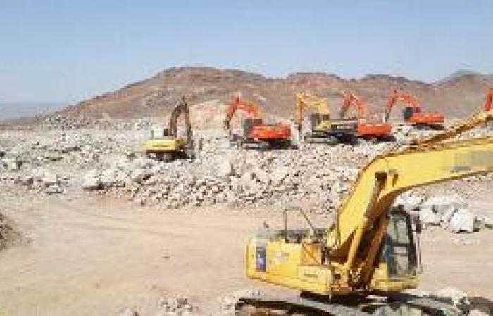 توقف أعمال مشروع مياه السلام مجدداً والمقاول يسحب المعدات