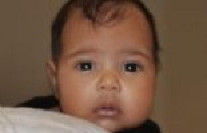 """زوج كيم كارداشيان يكشف عن أول صورة لابنتهما """"نورث ويست"""" في برنامج تليفزيوني"""