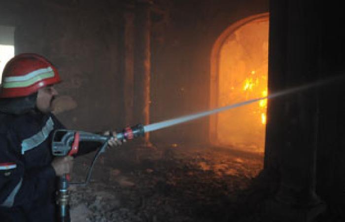 السيطرة على حريق شب فى عقار سكنى مكون من 3 طوابق بطوخ فى القليوبية