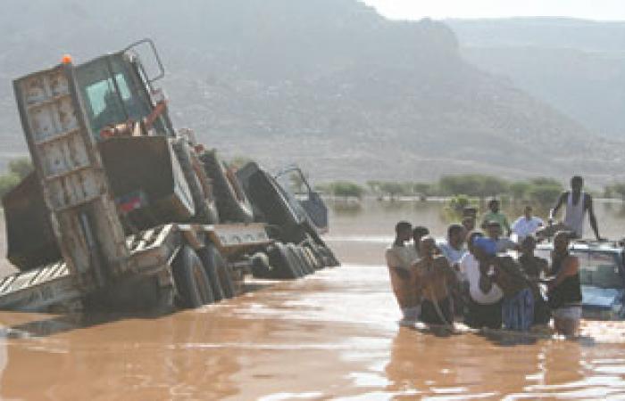 وصول طائرة مساعدات قطرية جديدة لمتضررى السيول بالسودان