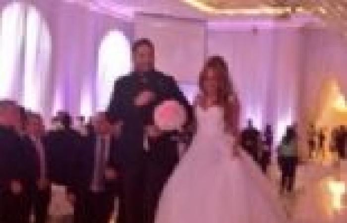 بالصور | زفاف رامي عياش بحضور نجوم لبنان