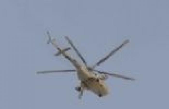 وصول الطائرة التي تقل مبارك لمستشفى المعادي العسكري