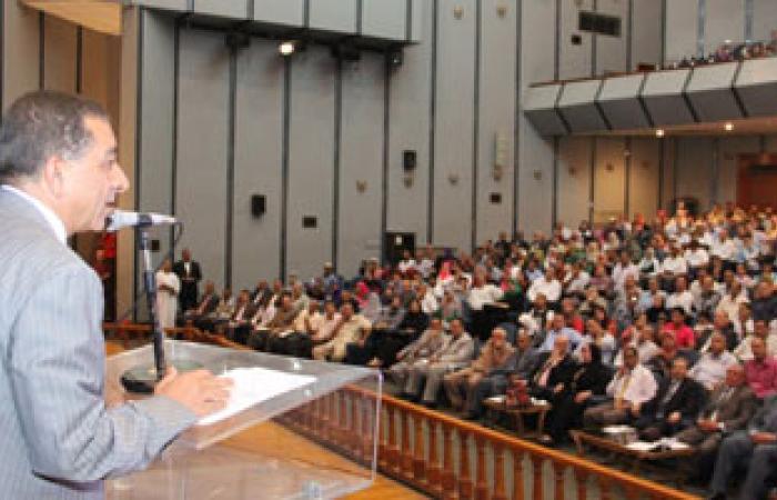 محافظ البحيرة: إنهاء مشكلة إستاد دمنهور بالتنسيق مع رئيس الوزراء