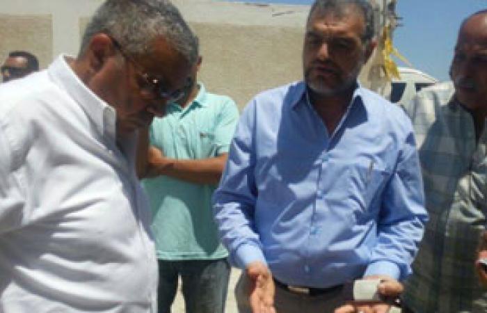 محافظ الإسكندرية يبحث مشاكل صيادى بحيرة مريوط وتفعيل خطة تنمية البحيرة