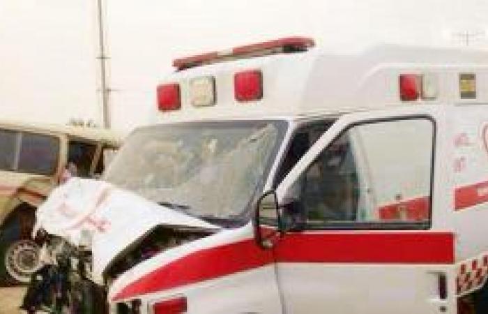 وفاة وإصابة 12 شخصاً في حادث للهلال الأحمر