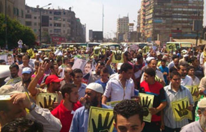 انضمام مسيرة الشارع الجديد بمسيرة مسجد التقوى بالقليوبية