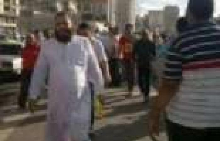 """نشطاء على """"فيسبوك"""" يتداولون صورة لـ""""عماد عبدالغفور"""" خلال مسيرة الإخوان اليوم بالإسكندرية"""