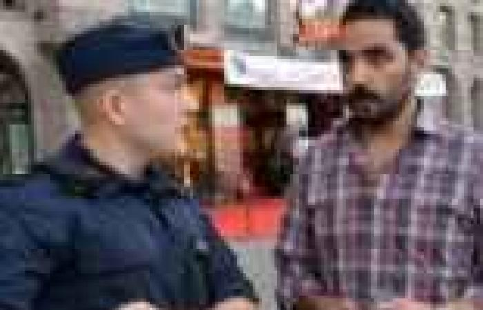 """ابن رئيس """"الجمعية المصرية"""" الإخواني يعتدي بالضرب على مراسل """"نايل سينما"""" في """"مالمو"""""""