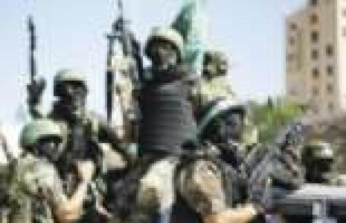 مسيرة «مسلحة» فى غزة لتأييد الإرهابيين بمصر وسوريا