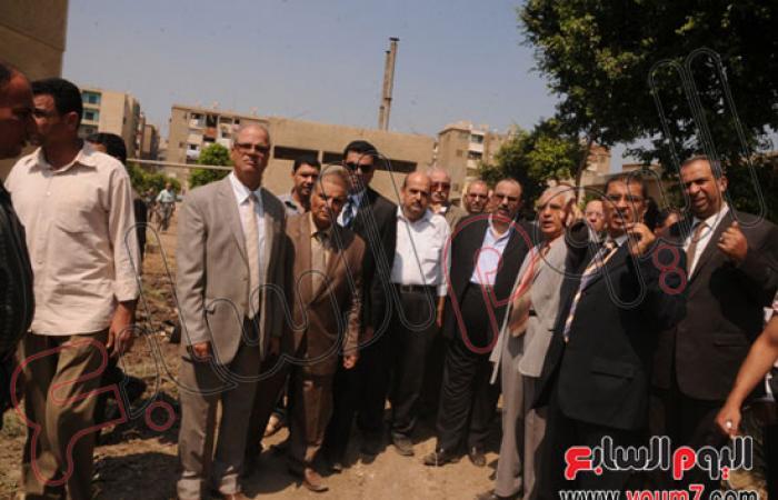 بالصور.. محافظ القليوبية يفتتح مبنى الاستقبال بمستشفى شبين القناطر