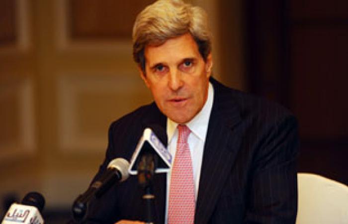 كيرى يؤكد أن دول عربية عدة  ترى أن الأسد تجاوز خطا أحمر