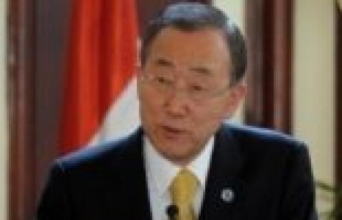 بان كي مون يدعو لإزالة أسلحة سوريا الكيميائية تحت إشراف الأمم المتحدة