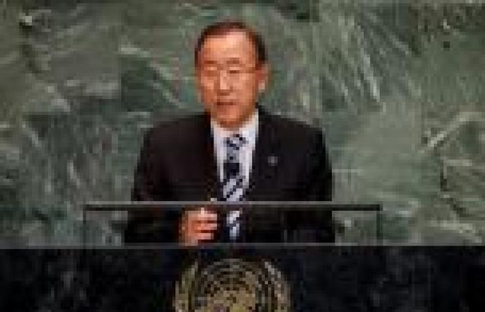 بان كي مون: «الهجوم الكيماوي» في سوريا «جريمة حرب»