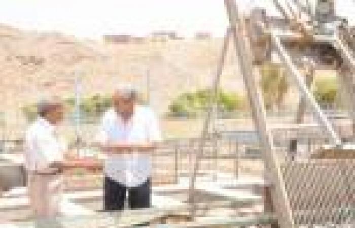 600 قطعة أرض مبانٍ لأبناء النوبة وزيادة سيارات المياه للقرى المتضررة بأسوان