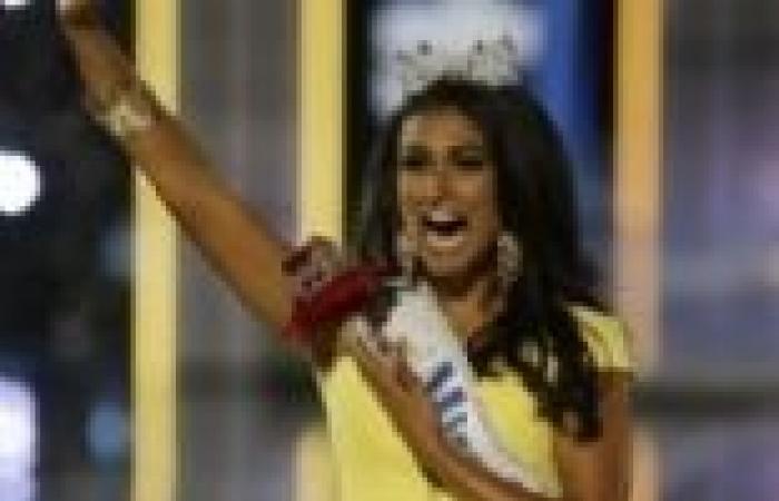بالصور  العنصرية الأمريكية تلاحق ملكة جمال 2014 ذات الأصول الهندية