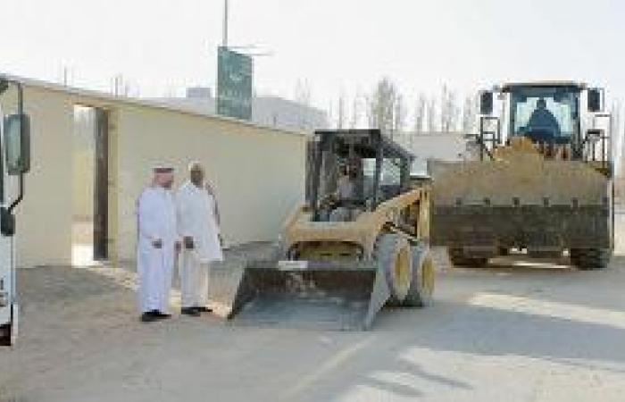 بلدية طبرجل تتجاوب.. إزالة مخلفات مدرسة ابتدائية
