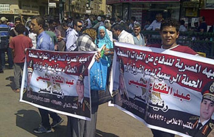 """""""كمل جميلك"""": تأييد السيسى رئيسا لا يعارض مع رفضنا محاكمة المدنيين عسكريا"""