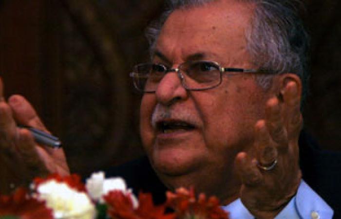 الاتحاد الوطنى الكردستانى ينفى أنباء وفاة الرئيس العراقى جلال طالبانى