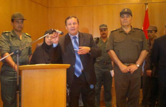 محافظ دمياط يلتقى بممثلى حزب الوفد بمدينة السرو