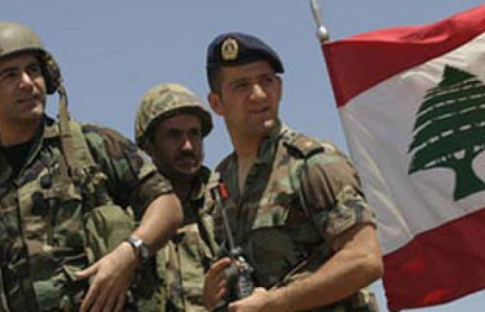 الجيش اللبنانى يواصل إجراءاته الوقائية ضد التفجيرات