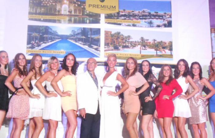 عرض أزياء تشيكى بالغردقة لتنشيط وتنمية السياحة بالبحر الأحمر