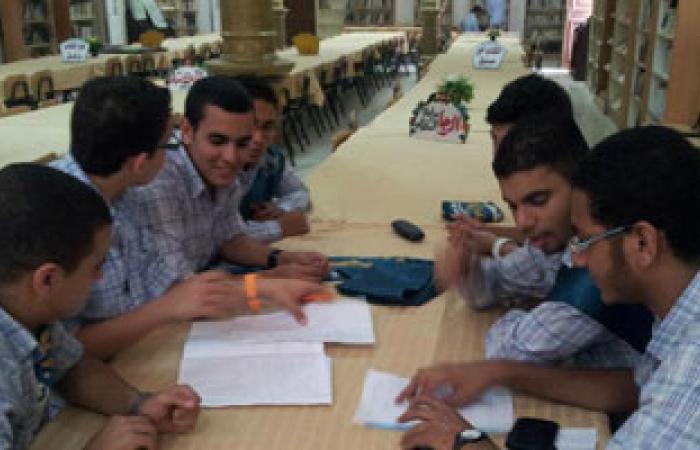 طلاب المدارس يشاركون فى يوم الهندسة المصرى بنماذج حضارية للمدن