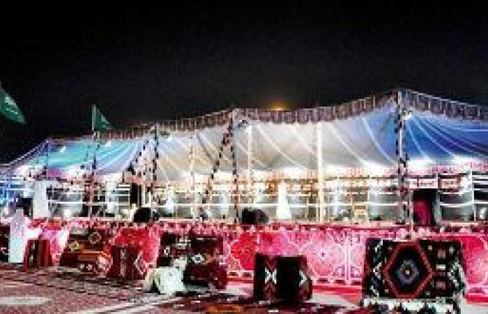 5 خيام شعبية تستقبل عشاق التراث في الرياض