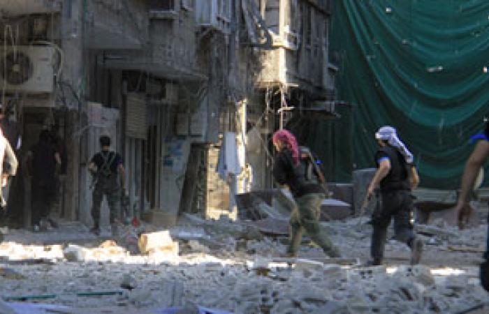 تصاعد القتال فى سوريا بين المعارضين المعتدلين ومقاتلى القاعدة