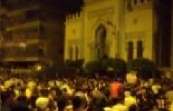 مسيرة ليلية للإخوان بالزقازيق لرفض ما أسموه بالانقلاب العسكري