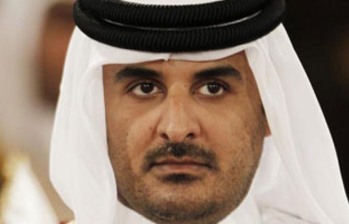 أمير قطر يلتقى رئيس الوزراء الكويتى ورئيس الائتلاف الوطنى للمعارضة السورية