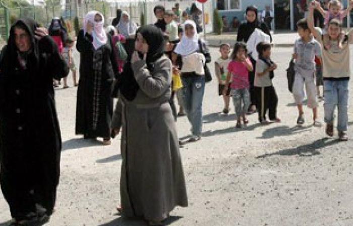 """""""المرأة العربية"""" تدعم النازحات السوريات فى لبنان بـ""""حقائب الكرامة"""""""