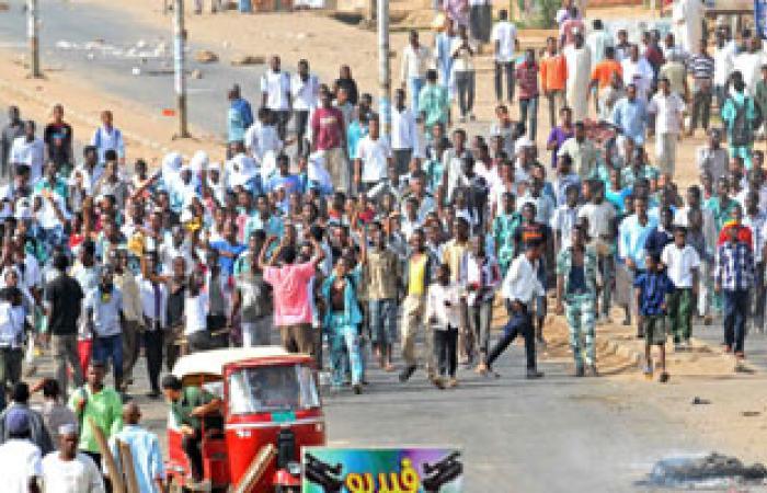 القوى الثورية فى السودان: مقتل 116 متظاهرا برصاص الأمن خلال 6 أيام