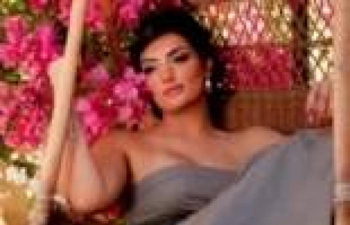 """حورية فرغلي ضيفة برنامج """"ميزان النجوم"""" في تاني أيام العيد على الفضائية المصرية"""