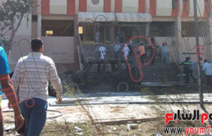 أهالى سنورس بالفيوم يشيعون جنازة شهيد الواجب ضحية تفجيرات سيناء
