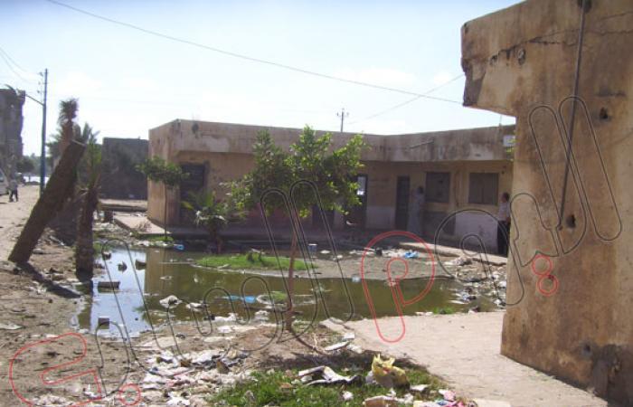 بالفيديو والصور.. مركز شباب برج مغيزل مقلب للقمامة والصرف الصحى