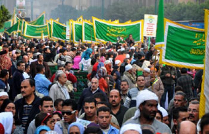 نصف مليون مصرى يحتفلون بمولد الشيخ أبو الحسن الشاذلى بوادى حميثرة
