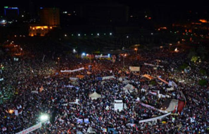 احتفالات للأهالى والشباب بثانى أيام عيد الأضحى فى ميدان التحرير