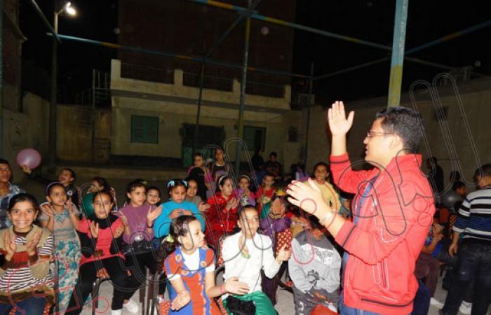 شباب التل الكبير يحتفلون بعيد الأضحى مع 80 طفلا من الأيتام