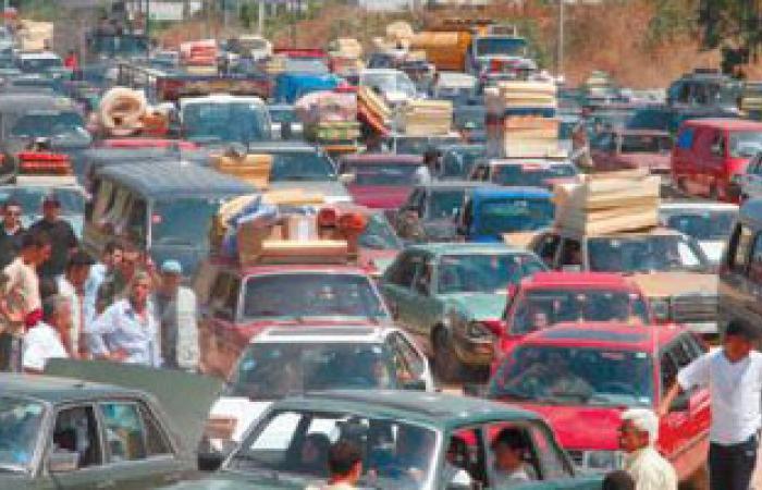 """ارتباك مرورى بسيدى بشر شرق الإسكندرية بسبب مسيرة """"المحظورة"""""""